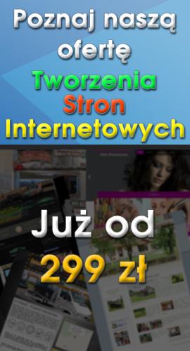 Zapraszamy do zapoznania się z naszą ofertą na Tworzenie Stron Internetowych jak i sklepów internetowych
